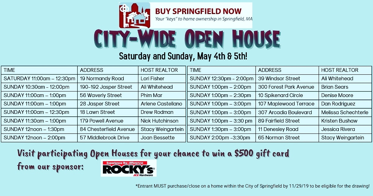 2019 City-wide Open House.